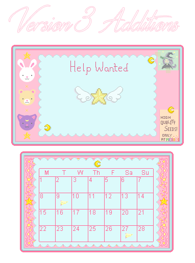 Starry Sky Interface Cute Pastel Magical Girl Palette At Stardew